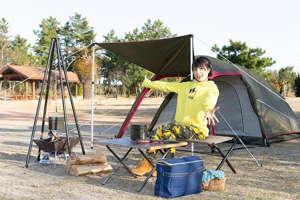 テントの選び方やたき火に必要なアイテムなど、かほなんがわかりやすくアドバイス!