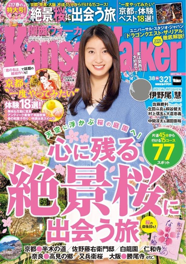 関西ウォーカー最新号はお花見大特集!