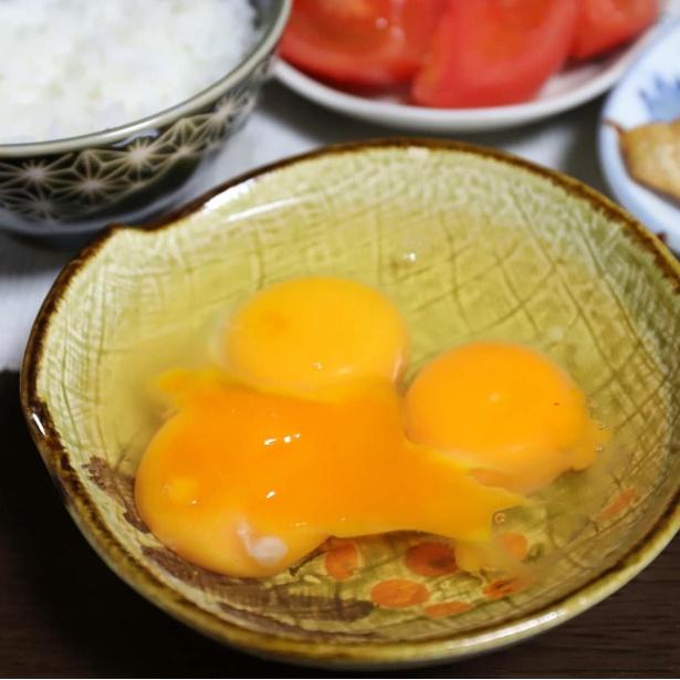 謎を呼ぶ、3つの生卵