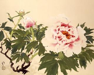 美術館が花満開、東京都渋谷区の山種美術館で「百花繚乱 ―華麗なる花の世界―」が開催中
