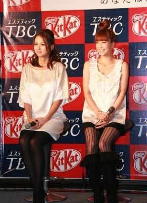 美の競演! 安田さんと桜井さん