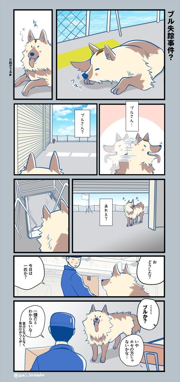 #ふじと南極のなかまたち15話(1/8)
