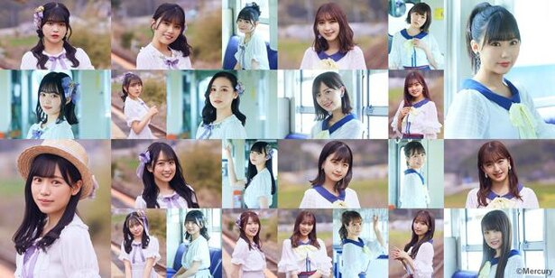 HKT48 田中美久14thシングル「君とどこかへ行きたい」イメージビジュアル