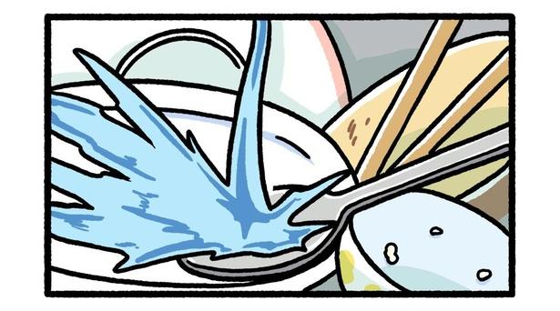 食器洗いの物理法則3