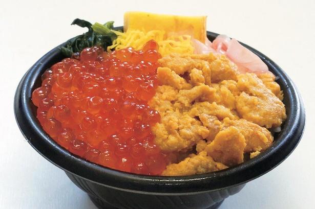 【写真】ウニやイクラなど、新鮮な海の幸がたっぷりのった海鮮丼は毎年人気