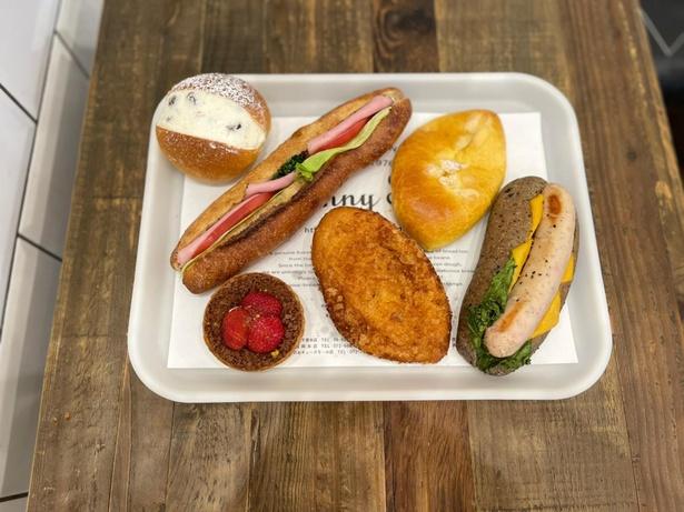 菓子パンやサンドイッチなどに使用するフィリング(具材)も自家製のこだわり