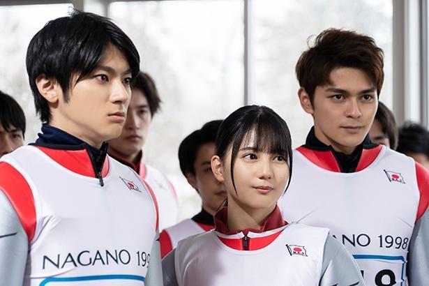田中と共にテストジャンパーを演じた、山田裕貴、小坂菜緒、眞栄田郷敦