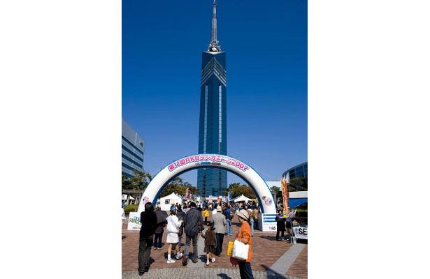 福岡タワー内などでもイベントを行う
