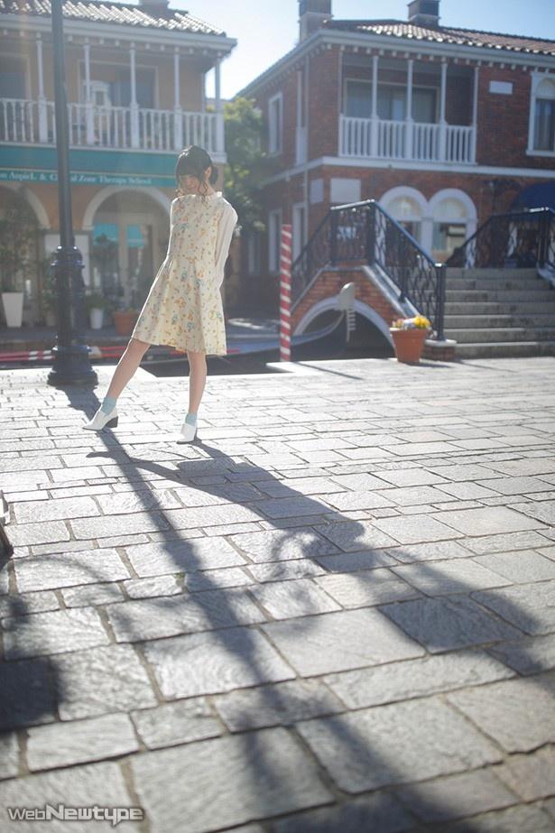 上田麗奈フォトコラム・自由が丘で見つけた優しい色の街並み