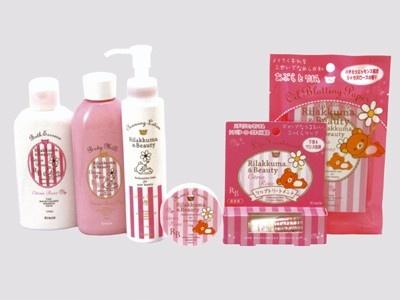 超かわいい!ピンクのリラックマのビューティーグッズ6アイテムが登場。「Rilakkuma&Beauty/ リラックマ&ビューティー 〜シトラスローズ〜」