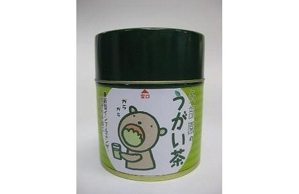 うがい用の粉末緑茶「うがい茶」