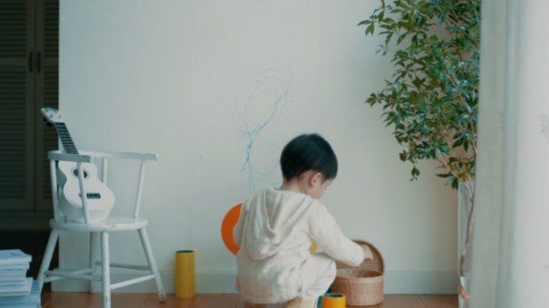 """""""壁に落書き""""はよくありがちなハプニング!そんなときには「HARU stuck-on design;」が大活躍すること間違いなし"""