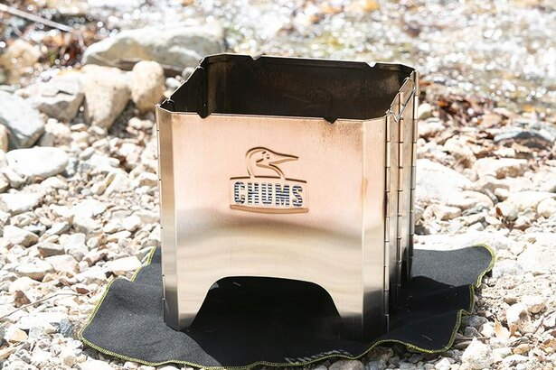 「CHUMS」のフォールディングファイヤーピット(10780円)