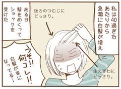 青沼貴子さんの「アラフィフまんが」で「白髪染め」について考えた:人気ブロガー月野まるさんが【やってみた】