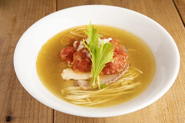 「Kiriya」が地元・流山産のフルーツトマトを使った限定麺を販売!