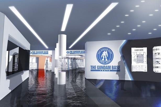 【写真を見る】「THE GUNDAM BASE TOKYO」エントランスイメージ