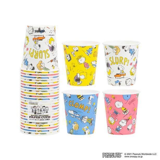 「ペーパーカップ」のデザインは4種類。計25個入り