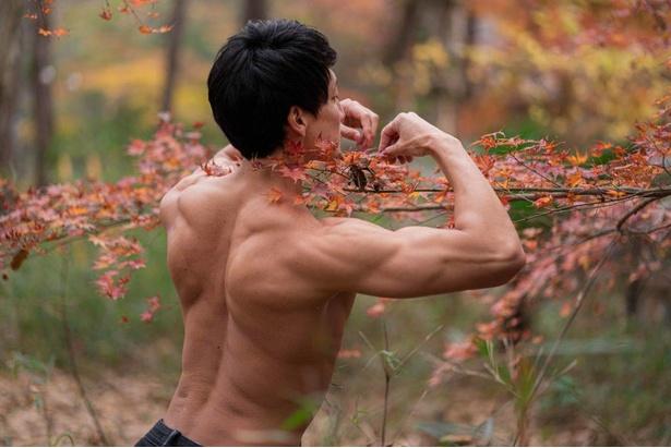 【紅葉とマッチョ2】小さい秋探すマッチョ