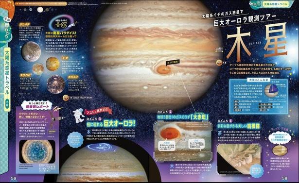 木星へ行くなら巨大なオーロラは必見!