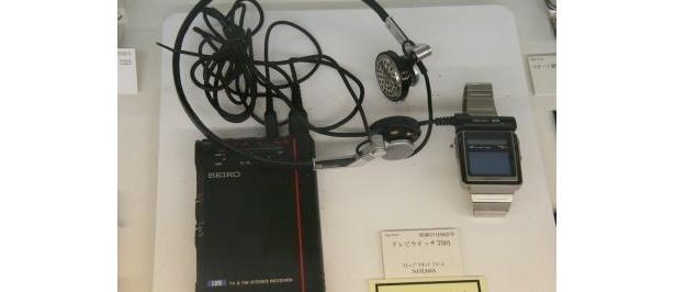 1982年に販売していたテレビウオッチは現代のワンセグ携帯のよう!