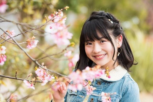 河津桜がよく似合う小畑