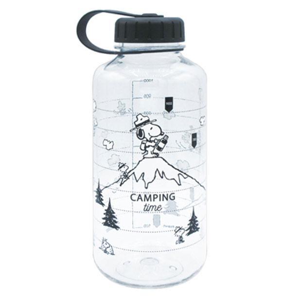 「スヌーピー クリアボトル 1000ml」(キャンプ)