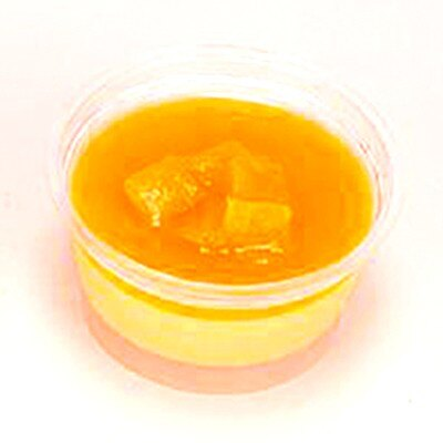 中国から、マンゴーを贅沢に使った「マンゴプリン」(190円)