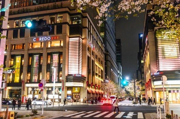 コレド室町では、日本橋の老舗の職人による遊び心溢れた限定桜グッズが販売される