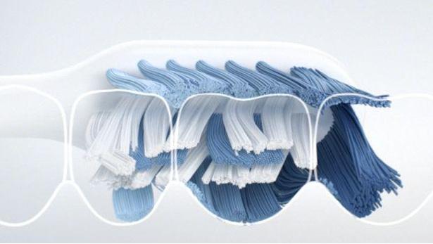 「オーラルB ClicFIT」は特殊毛「Xフィラメント」の毛先の角がミクロの汚れまでキャッチする