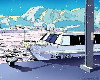パステルカラーで描かれる風景イラストがSNSで話題に!伝えたいのは「物事を別の方向から見ること」