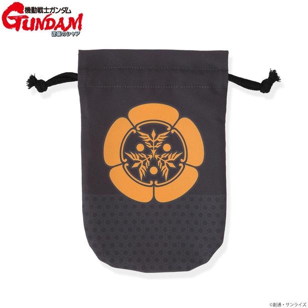 機動戦士ガンダム 逆襲のシャア 家紋柄企画 巾着 ネオ・ジオン(1650円)