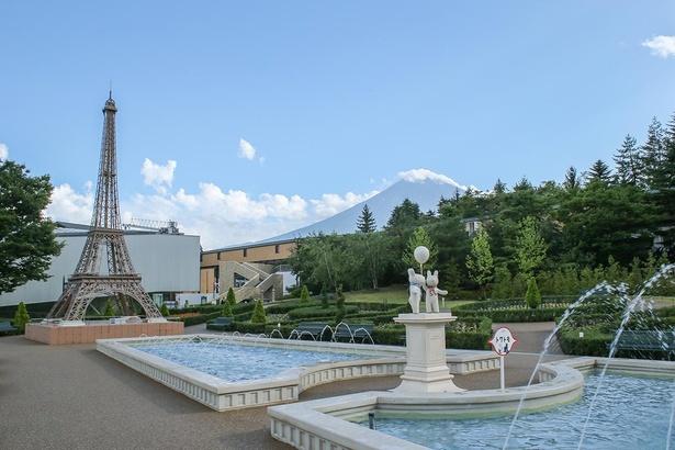 【写真】エッフェル塔と富士山の写真が一緒に撮れるのはココだけ!思い出に記念写真を撮ろう