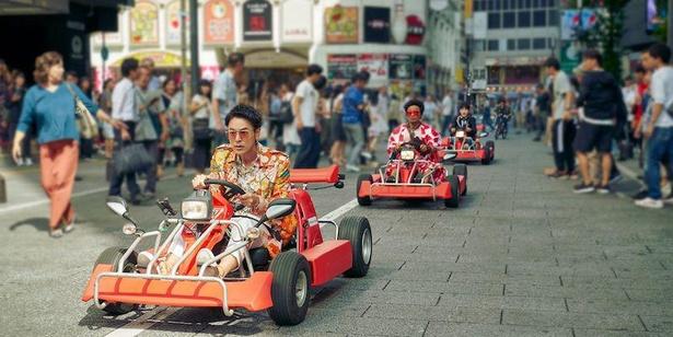 『唐人街探偵 東京MISSION』新宿・歌舞伎町での場面カット