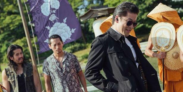 『唐人街探偵 東京MISSION』浜離宮恩賜庭園での場面カット