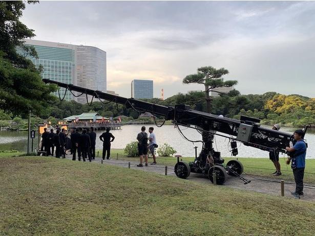 『唐人街探偵 東京MISSION』浜離宮恩賜庭園での撮影メイキング