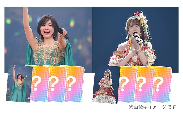 【画像】元SKE48の松井珠理奈と高柳明音の卒業コンサートのNFTカードを販売!
