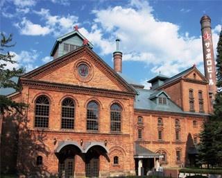 サッポロビール博物館/明治時代にビートの製糖工場として作られた建物で「北海道遺産」に登録されている