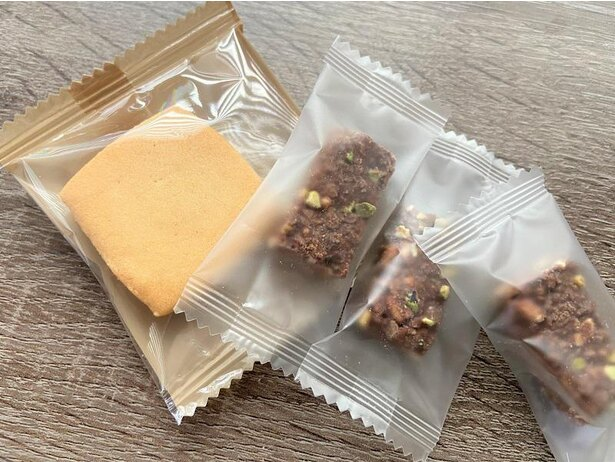個別包装のパッケージもシンプル