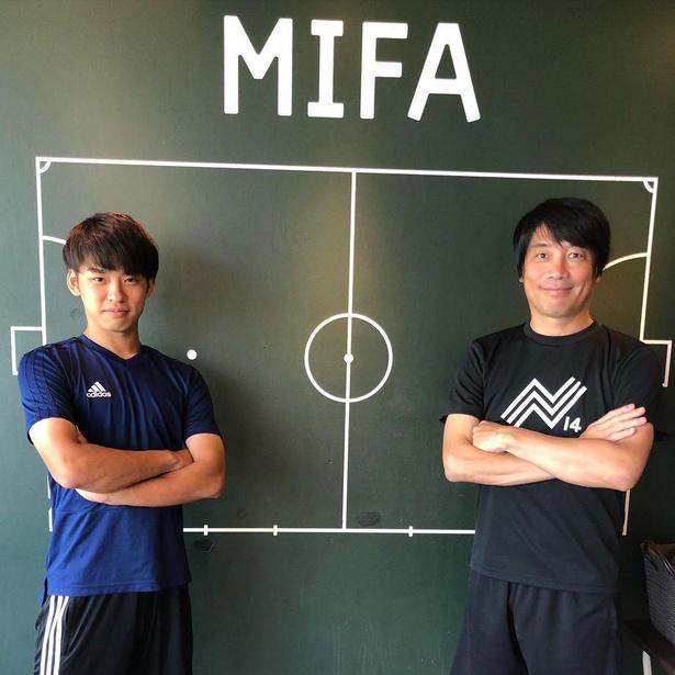 横浜FCからベルギーのクラブへ移籍した19歳のアタッカー斎藤も、昨年から中西さんより指導を受け、さらなる飛躍を誓う