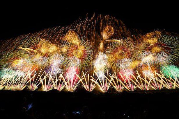 日本三大花火大会として有名な「長岡まつり大花火大会」