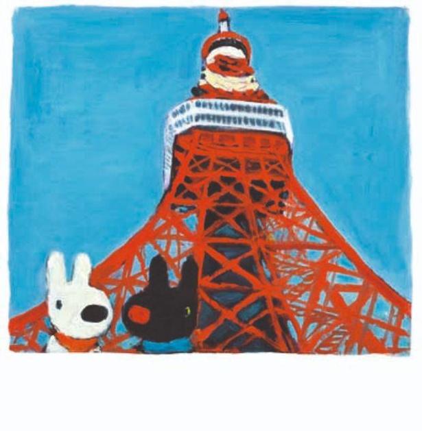 東京タワー、東京スカイツリーなどへも行くリサとガスパール