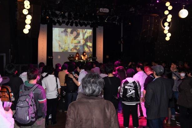 アイドルユニットや人気DJによるライブも実施