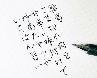 「美しいボールペン字」と「現実を突きつける言葉」のギャップに夢中!SNSで話題の「今日の書き散らし」って?