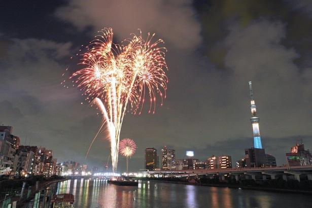 【写真】過去の隅田川花火大会の様子