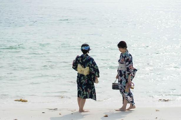 浴衣は観光案内所やホテルなど町内数カ所で浴衣レンタルも可能