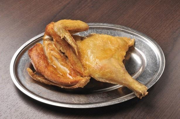 若鶏時代なると本店/若鶏半身揚げ。このほかにも小樽のソウルフードはぞくぞく……
