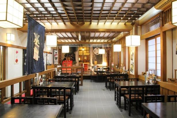 小樽蕎麦屋 籔半/店内のようす
