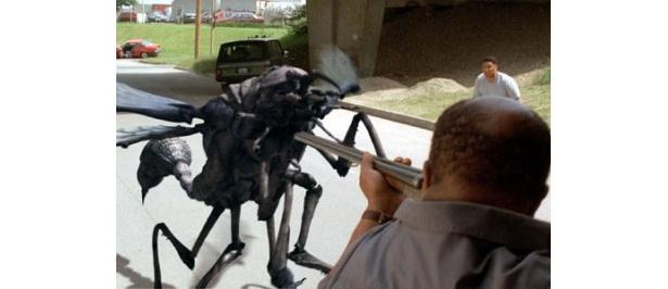 超巨大な昆虫軍団が人間に襲い掛かる!