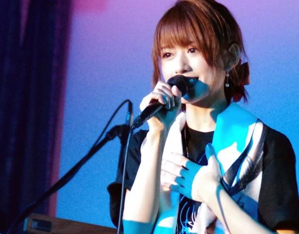 希島あいりが初ワンマンライブを東京・J-SQUARE SHINAGAWAで開催