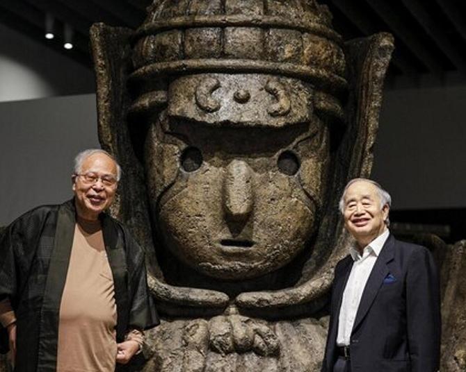 荒俣宏「語れば1時間かかる」、55年ぶりに封印が解かれた『大魔神』の意義を力説!